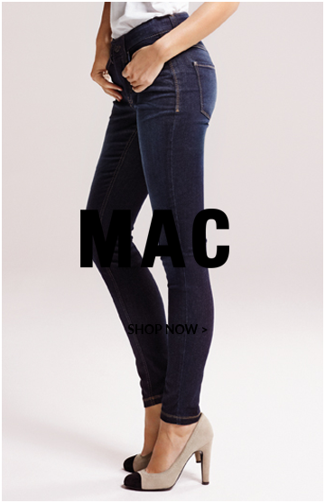 mac jeans dark blue