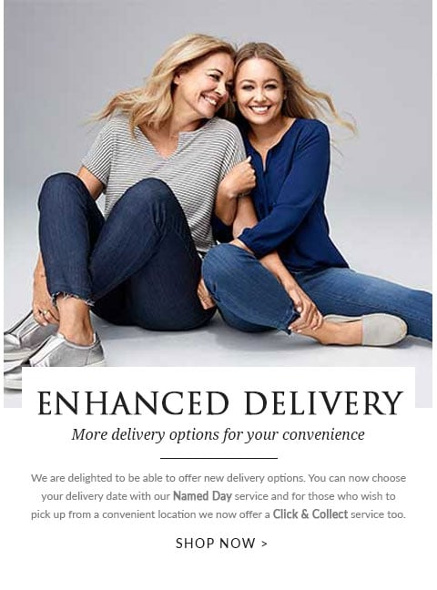 Enhanced delivery