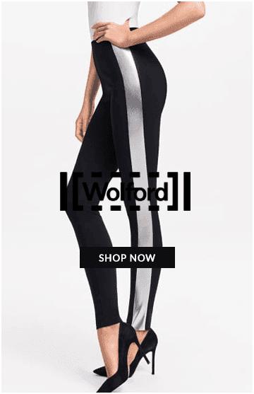 Wolford metallic stripe