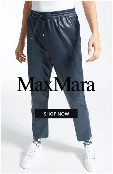 Maxmara loose leather