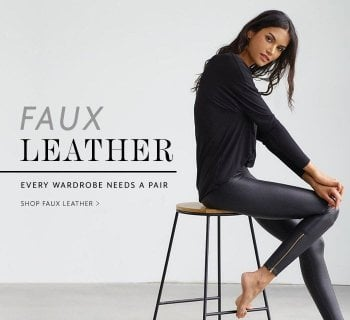 Clothing - Faux Leather