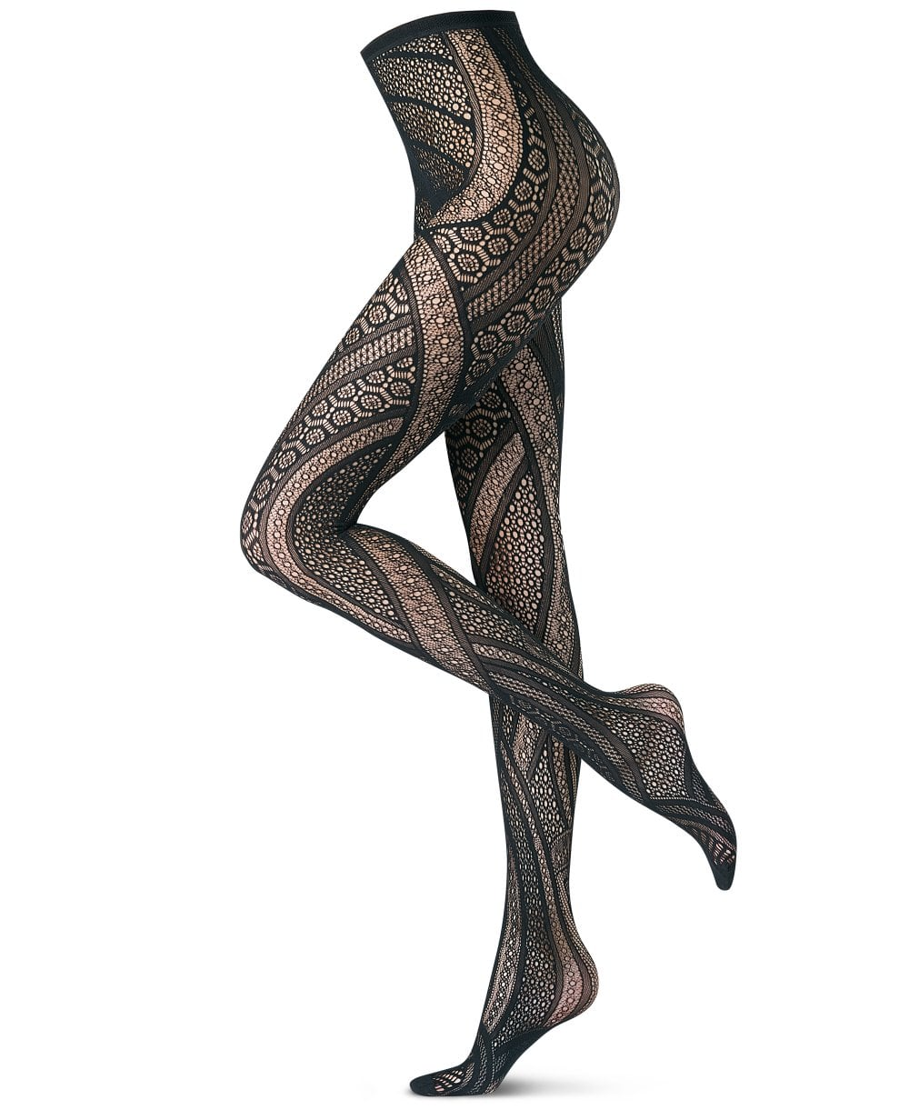 8bfc49db0992a Oroblu Fishnet Pattern Tights - Tights from luxury-legs.com UK