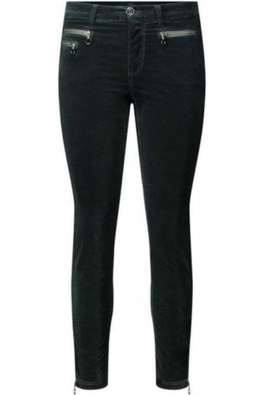 Just Zip Velvet Skinny Jean