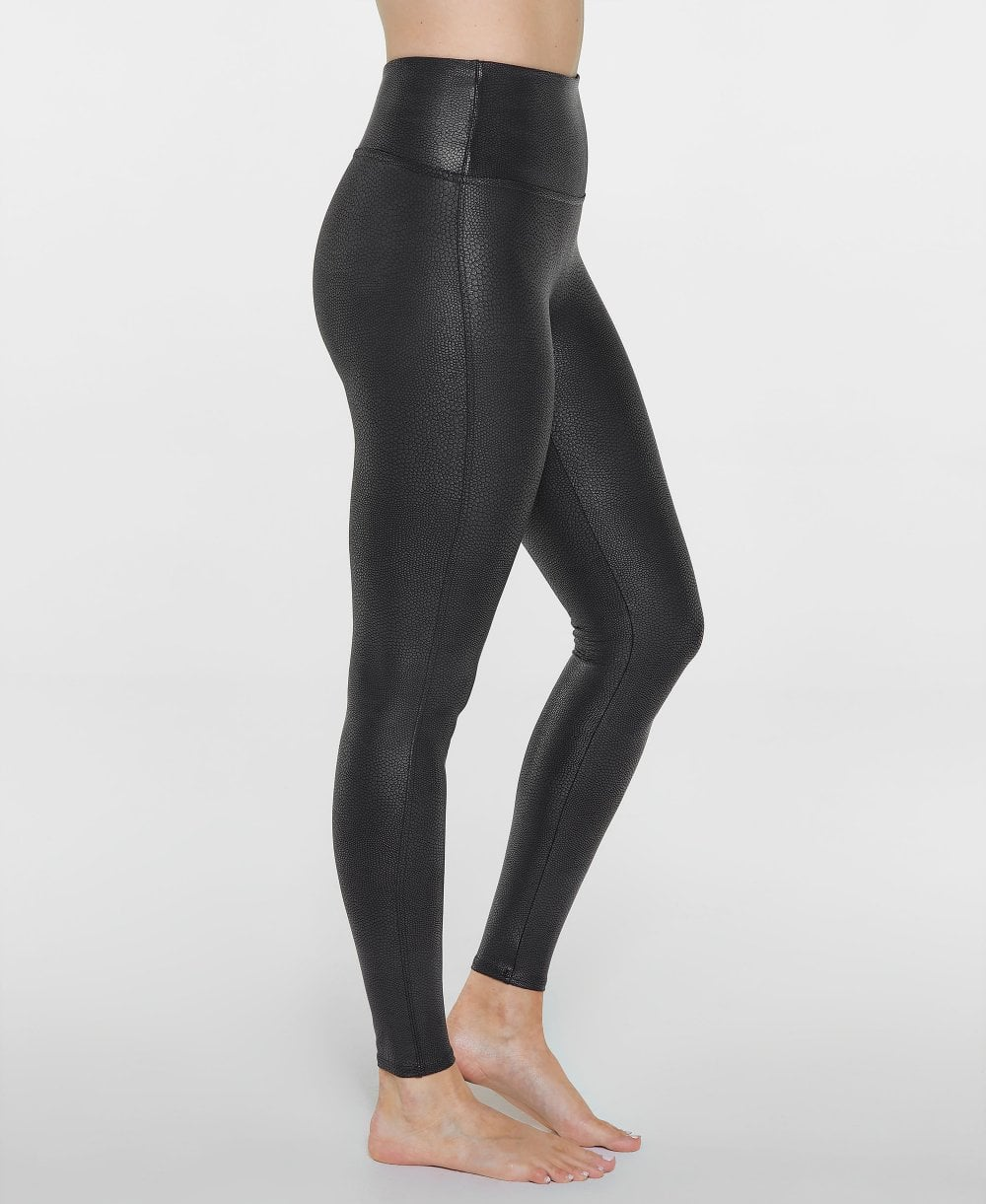 f7fe7833036ee0 Spanx Faux Leather Pebbled Leggings - Leggings from luxury-legs.com UK