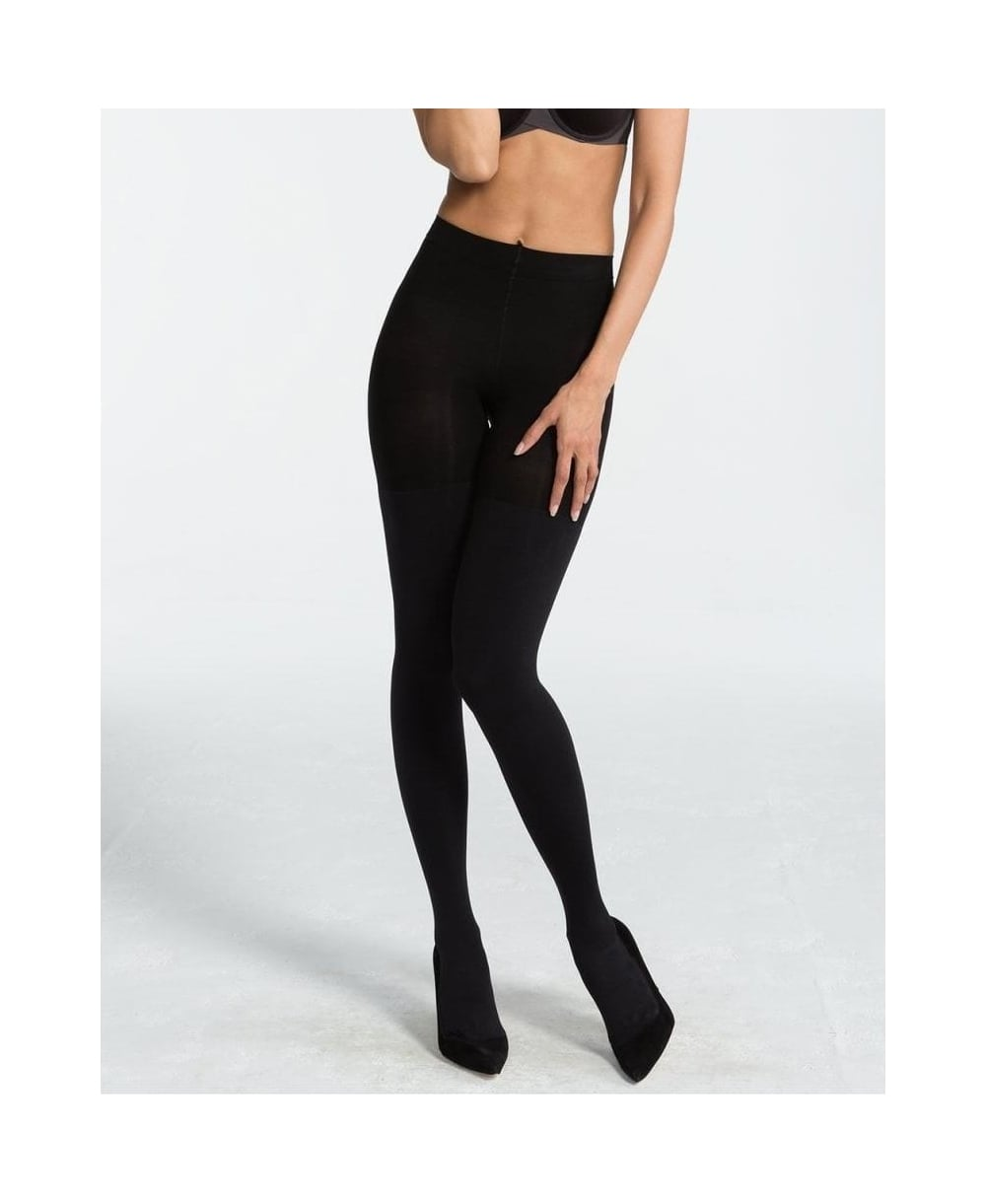 d43e3dcfbe7 Spanx Luxe Leg Blackout 100 Denier Shaper Tights - Tights from luxury-legs.com  UK