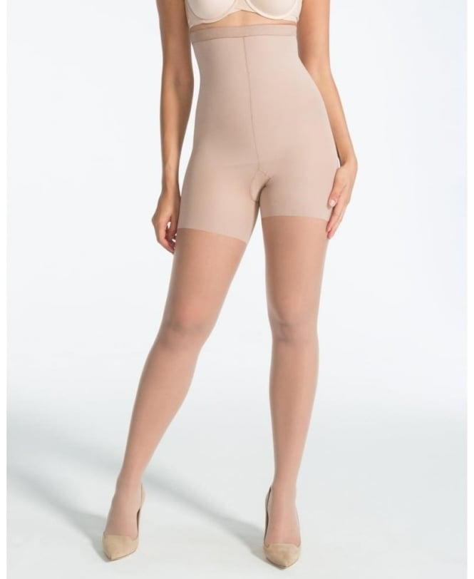 Spanx Luxe Leg High-Waisted Sheer Shaper Tights