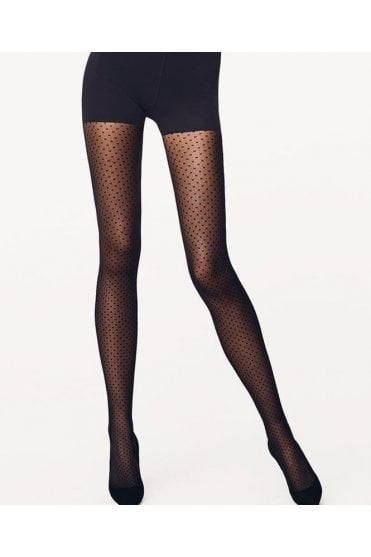 Dots Control Top Tights