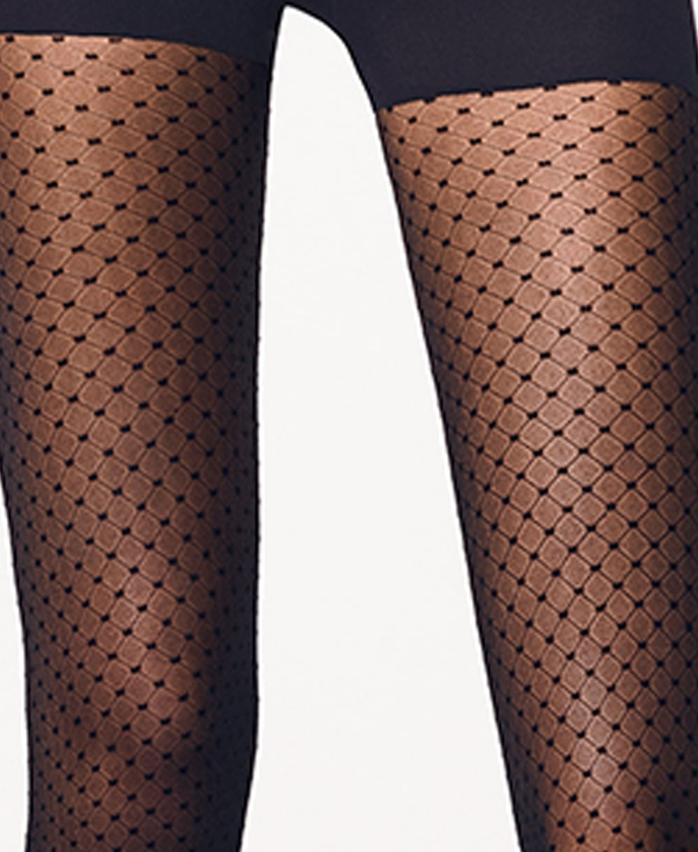 33345ed99 Wolford Dots Control Top Tights - Tights from luxury-legs.com UK