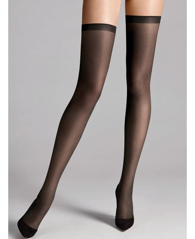 Wolford Fatal 15 Seamless Stay-Ups