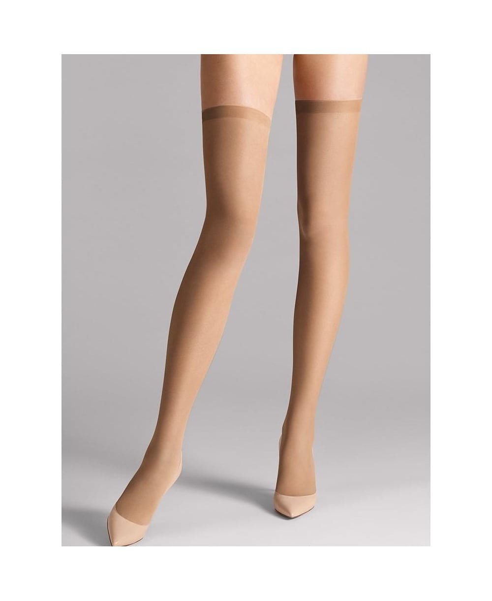 cada79c9bae Wolford Fatal 15 Seamless Stay-Ups - Hold-Ups from luxury-legs.com UK
