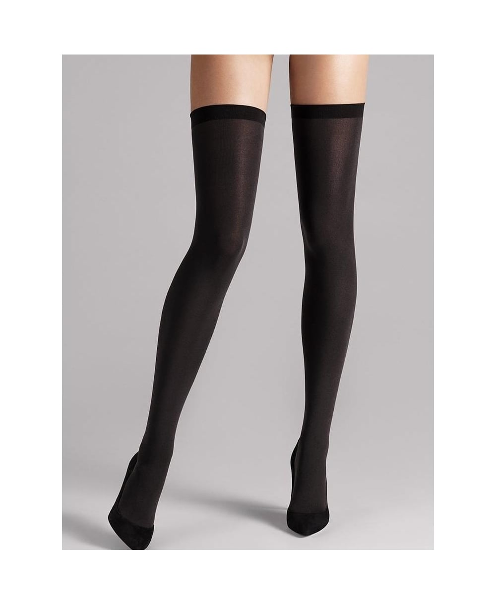 61fddd99b0f Wolford Fatal 80 Seamless Stay-Ups - Hold-Ups from luxury-legs.com UK