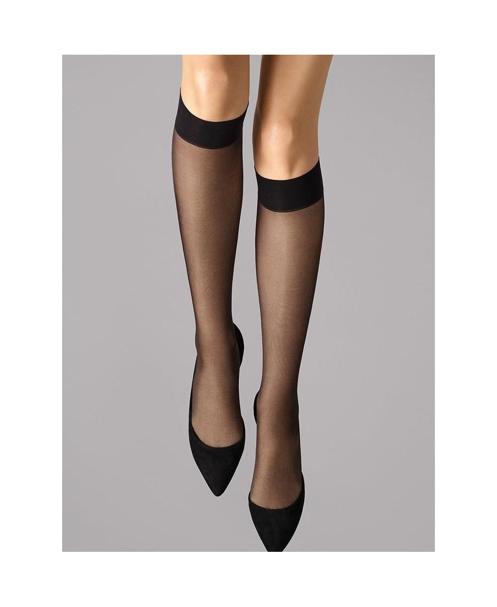 df36b5b53 Wolford Satin Touch 20 Knee-Highs - Socks from luxury-legs.com UK
