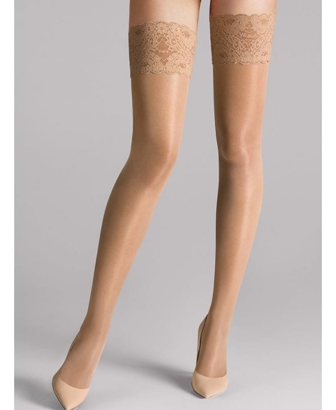 Wolford Satin Touch 20 Stay-Ups