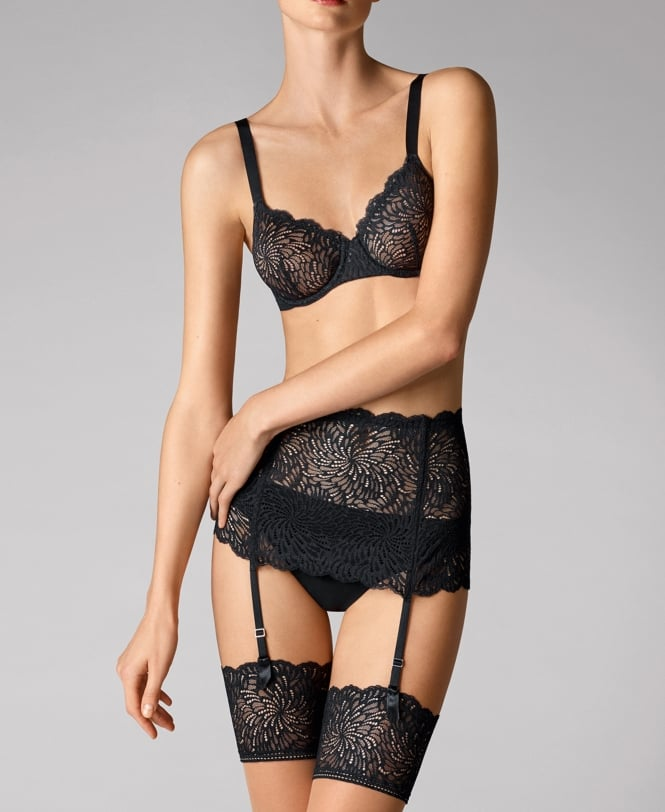 Wolford Tulle Lace Stocking Belt