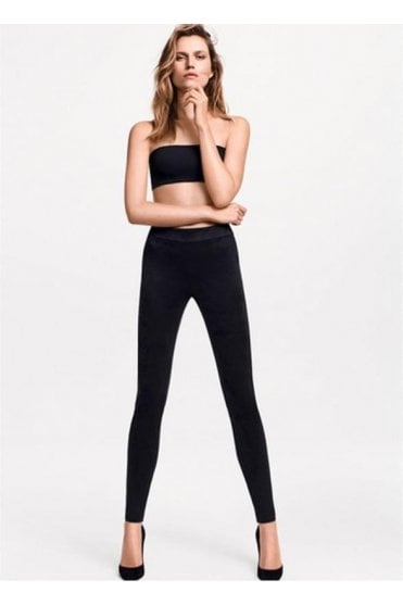 Velour Faux Suede Leggings