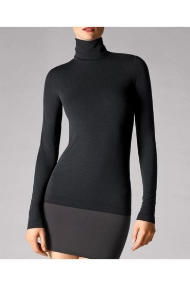 Viscose Roll Neck Pullover